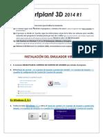 Instrucciones sp3d