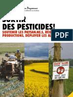 Confédération paysanne - Sortir des pesticides
