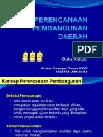 2 Perencanaan Pembangunan Daerah