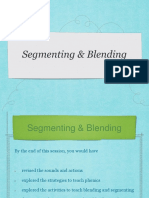 Segmenting and Blending Yanie 2