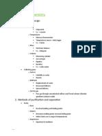 Chemistry Notes (Experimental Chemistry)