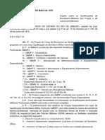 Decreto Nº 716 - Define as Qbmps