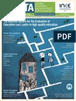 Gaceta de la Política Nacional de Evaluación Educativa en México No. 9_inglés