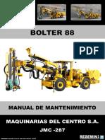 Manual de Mantenimiento Bolter 88 Jmc-287