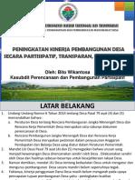 Solusi Pembangunan Desa Melalui Pid Pak Bito (1)