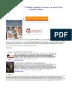 El Viajero La Vida y La Leyenda de Marco Polo Spanish Edition q7li1k2
