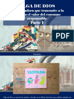 Yammine - Olga de Dios. La Ilustradora Que Transmite a La Infancia El Valor Del Consumo Responsable, Parte I