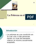 8.1 La Pobreza en El Peru