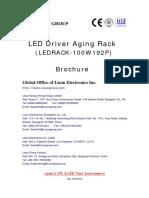LED Driver Aging Rack