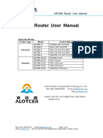 Alotcer Industrial Router AR7088 Router User Manual