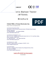 Electronic Ballast Tester