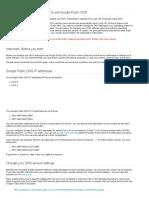 Get Started _ Public DNS _ Google Developers