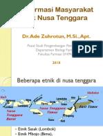 Etnofarmasi Etnik Nusa Tenggara