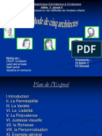 5 architectes