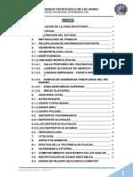 Informe Del Estudio Geologico de Abancay