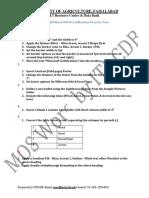 Microsoft Word 2010 Certification Practice Test 17 1