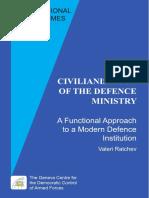 Civilianisation of Defence Institution-1