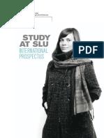 SLU's International Prospectus
