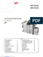 Technical Handy Guide mx4141n
