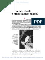 36 O Mundo Atual a Historia Nao Acabou