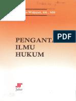 Pengantar Ilmu Hukum (Buku Monografi)