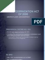 Prc Modernization Act of 2000