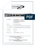 Cooling Tower O&M Manual