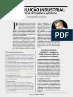 Artigo de Opinião - 4ª Revolução Industrial - Revista Pessoal Gold 2018