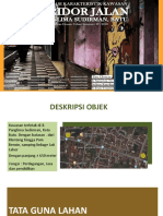 Azas Desain Urban Koridor Jalan Panglima Sudirman Batu