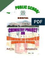 DELHI PUBLIC SCHOOL determining the strength of commercial vinegar.doc