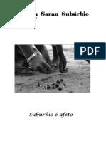 Revista Sarau Subúrbio ed #07 - outubro 2018