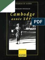 Cambodge Année Zero - Francois Ponchaud