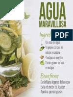 Agua Pepino Limon Jengibre