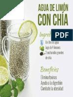 Agua Limon y Chia