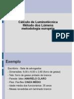 Luminotecnica - Metodo dos Lumens.PDF