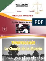 Clase 2 Tanatología Forense
