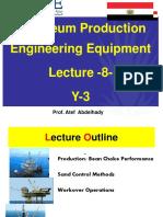 Lecture 8 Y3 BUE