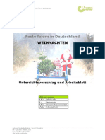 12 Weihnachten UnterrichtsvorschlagArbeitsblatt