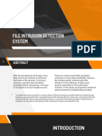 File Intrusion Detection System
