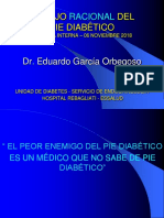 Pie Diabetico Presentación Hospital Rebagliati 2018