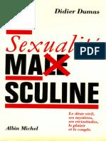 La Sexualité Masculine - Didier Dumas