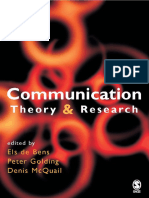 Denis McQuail, Peter Golding, Els De Bens - Communication Theory and Research (European Journal of Communication) (2005, SAGE Publications Ltd).pdf