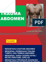Trauma Abdomen,Pengelolaan Awal2014