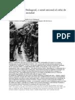 Dezastrul de La Stalingrad