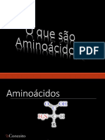 Aminoácidos e Peptídios