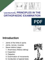 General Principles in Orthopaedic Examination - Revisi