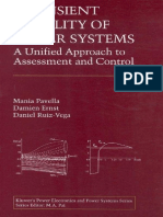 Mania Pavella, Damien Ernst, Daniel Ruiz-Vega - Transient Stability of Power Systems_ a Unified Approach to Assessment and Control (2000, Springer)