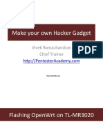 002 Flashing Openwrt on Mr3020
