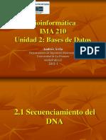 Unidad2 Bases de Datos Bioinfo2011