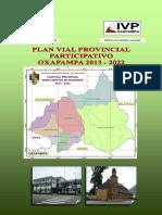 plan vial provincial oxapampa